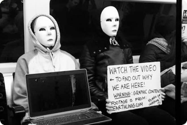 Earthlings Experience – The Women Behind the Masks