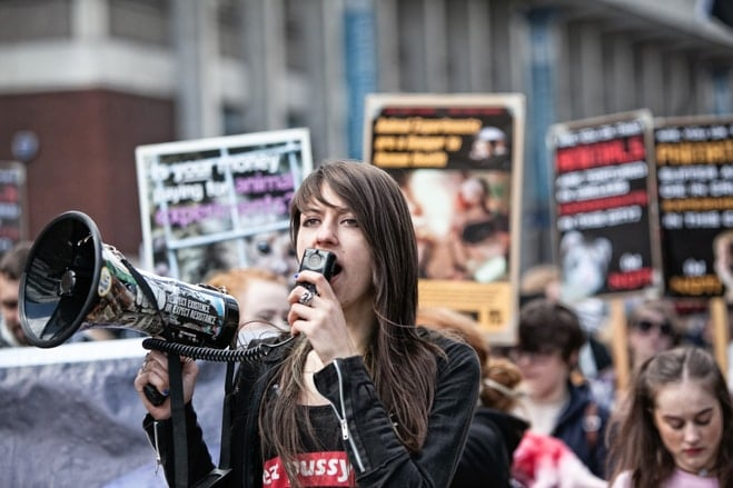 DominiKa Piasecka activist demonstrations
