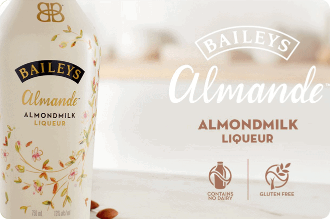 Baileys have confirmed to Vegan Life Almande IS vegan