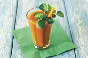 watercress orange carrot tonic juice