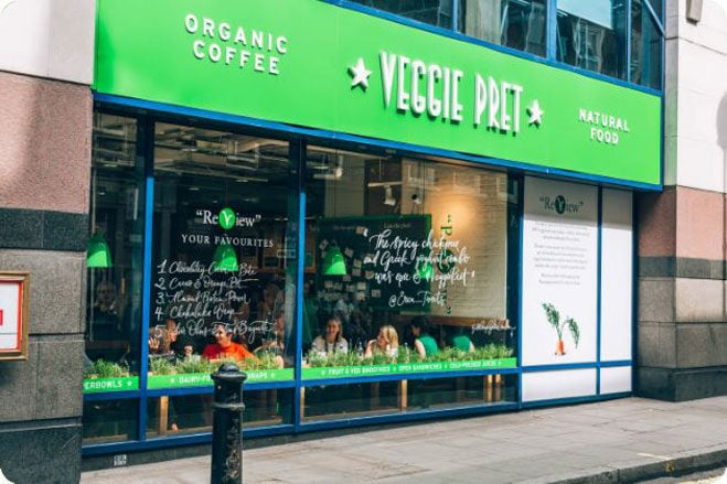 Pret a Manger is opening a second all-veggie shop