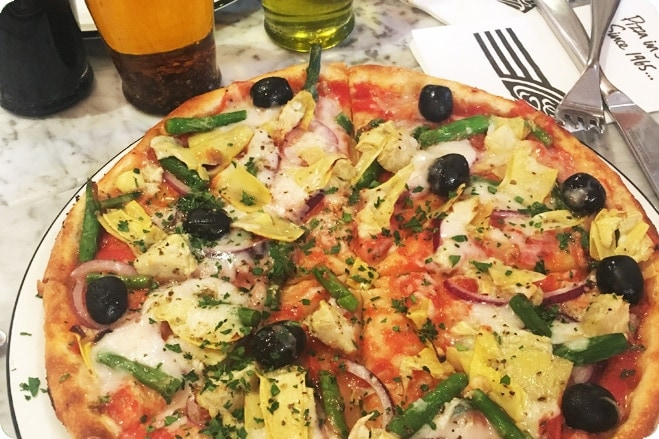 Vegan Life Gets First Look At New Pizza Express Vegan Cheese