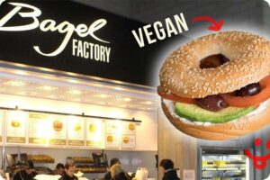 Bagel Factory first in the UK to offer Bagels with Vegan Cream Cheese 3