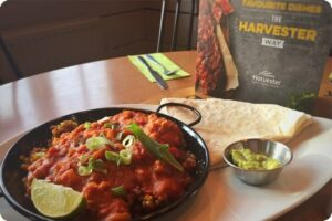Harvester announce new vegan menu 2