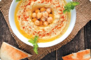 Roast Garlic Houmous 6