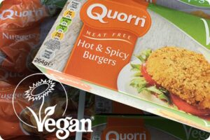 Quorn products officially registered as vegan 1