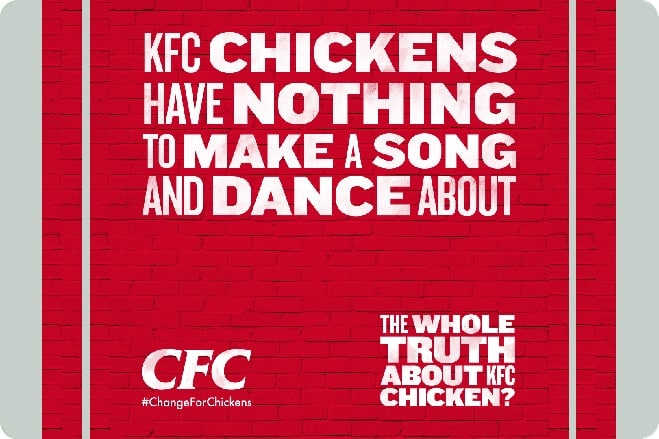 An Open Letter From World Animal Protection To KFC