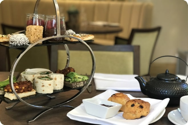 Vegan Afternoon Tea at Carey's Manor