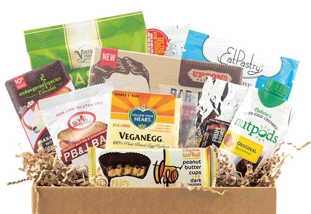 vegan food subscription boxes
