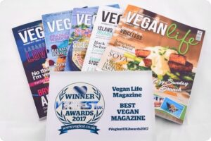 Vegan Life Wins Best Vegan Magazine At VegfestUK Awards 15