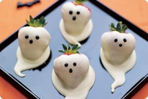 strawberry ghost halloween scareberries berryworld
