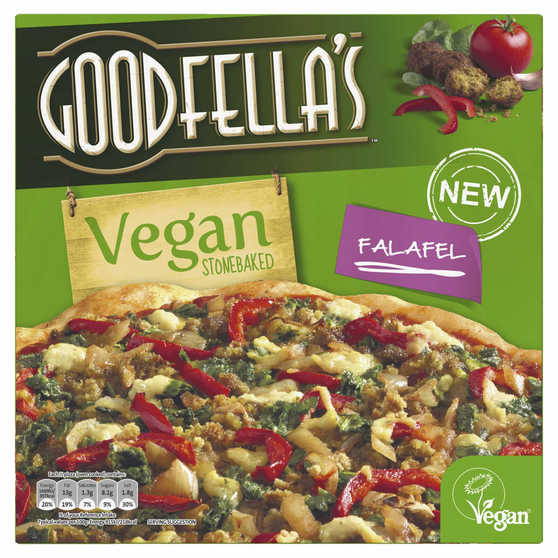 Goodfella's Launching New Frozen Vegan Pizza, Available in March 2018 1