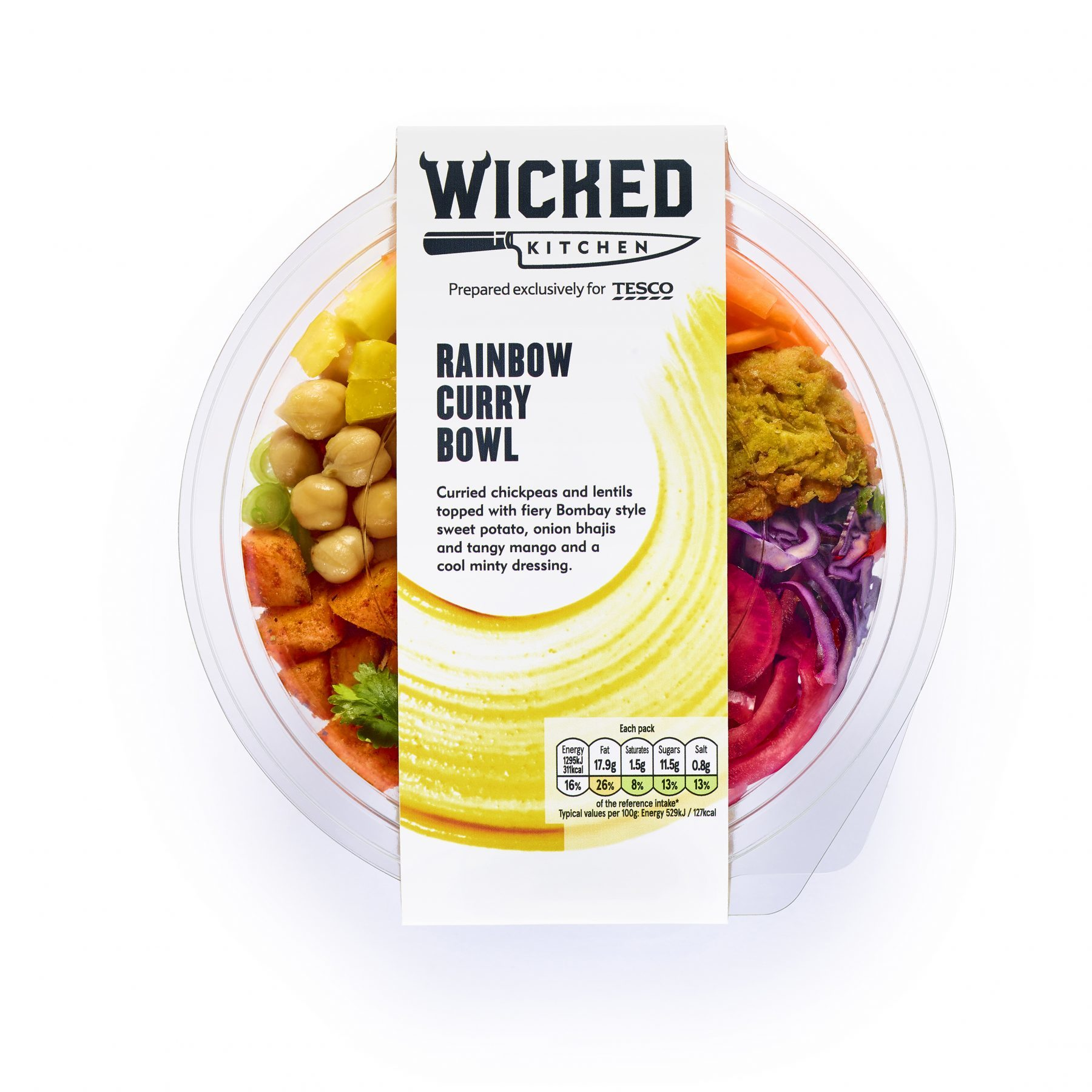 Tesco Launches New Plant Based Brand Wicked Kitchen 3