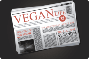 Olivia's Blog: We Called It! 2018 Is The Year Of The Vegan 1