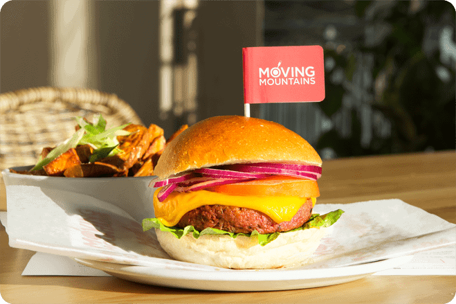 5 things we learnt about the UK's first 'bleeding' burger