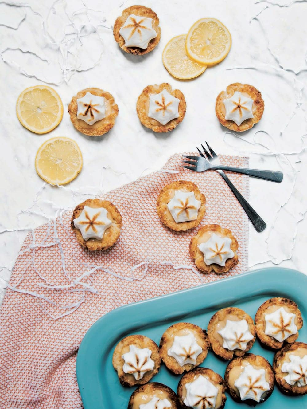 lemon meringue pie tarts aquafaba