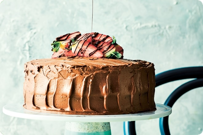 Lucy Watson's Two Layer Chocolate Fudge Cake