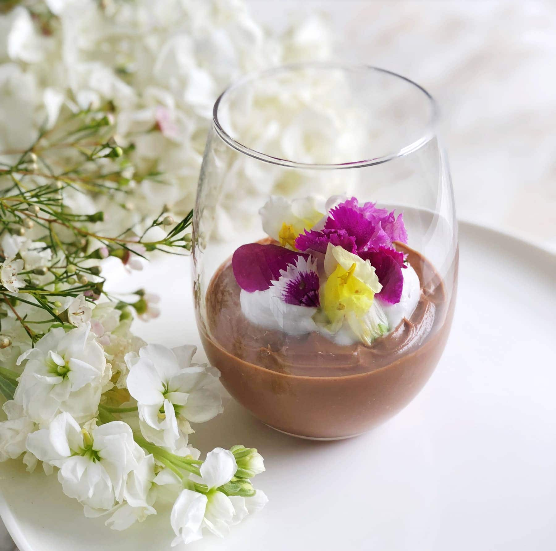 Cacao & Coconut Pudding 1