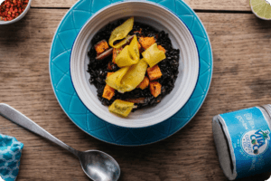 Sticky Coconut Black Rice with Mango and Lime 13