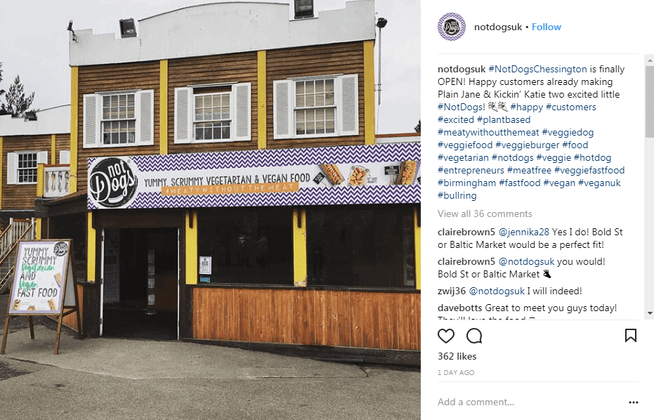 Not Dogs Open New Branch at Chessington World of Adventures 1