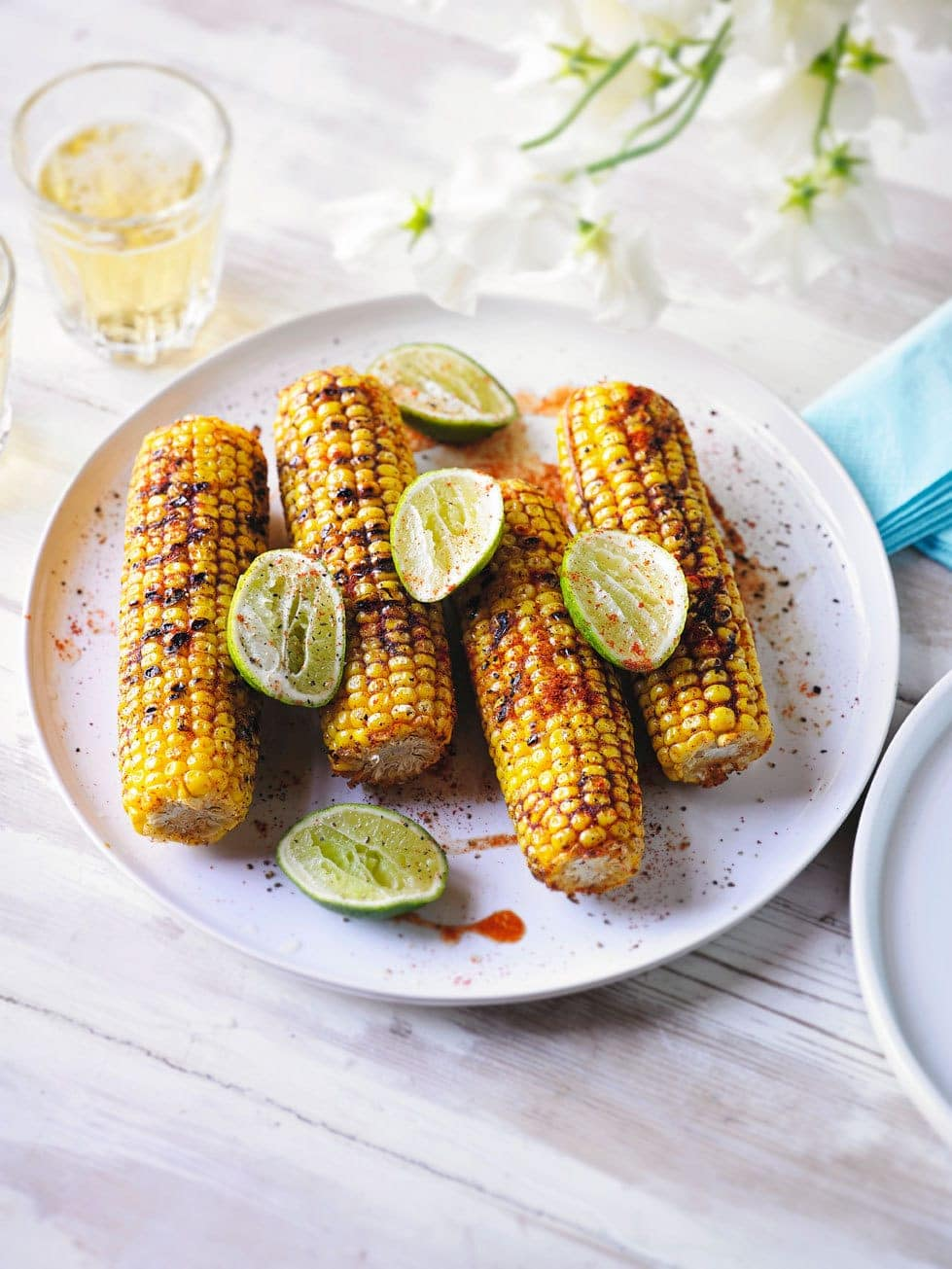 Barbecued Sweetcorn with a Smoky Rub 1