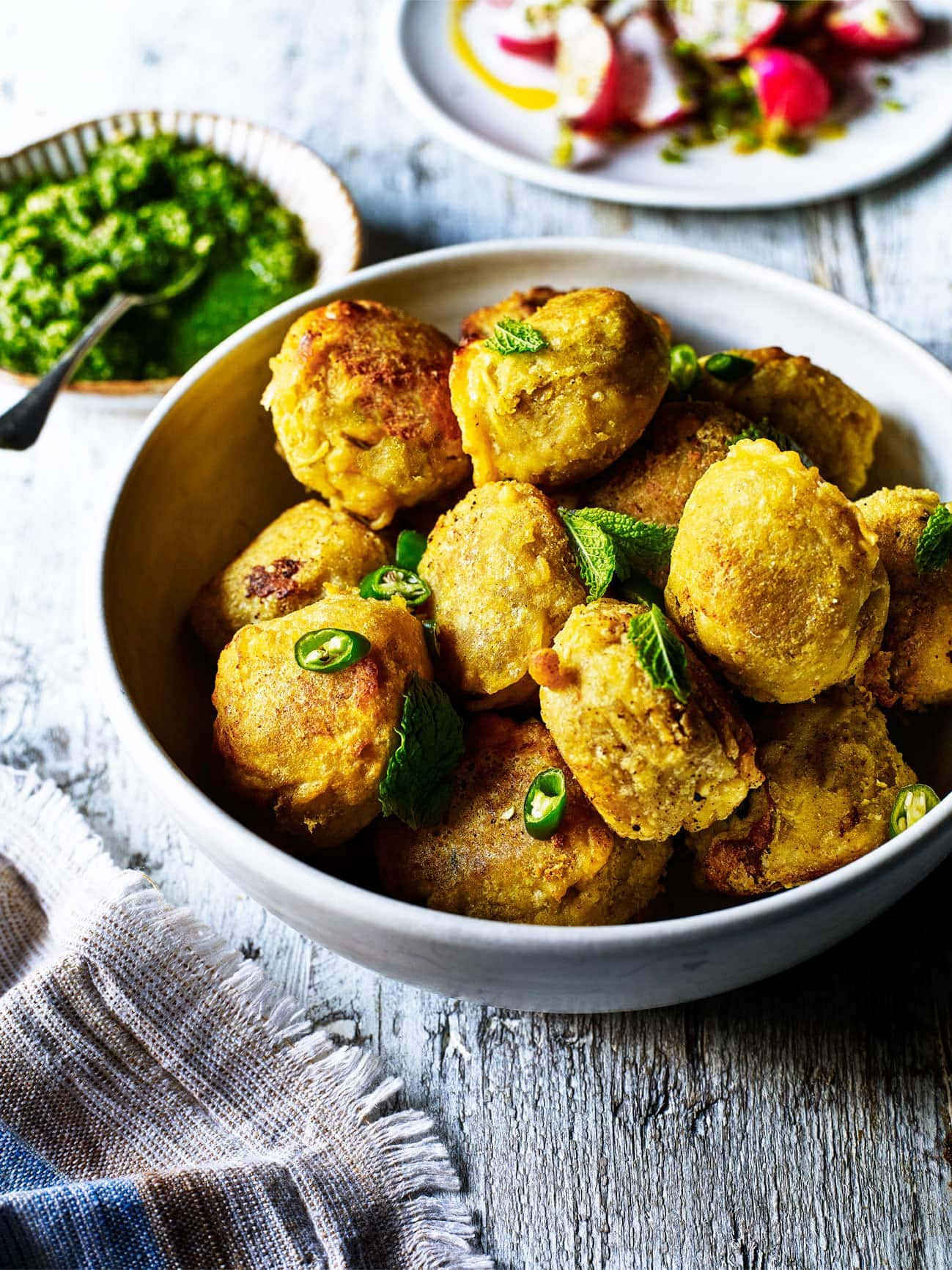 Dhal Vada (Spicy Potato and Lentil Snacks) 1