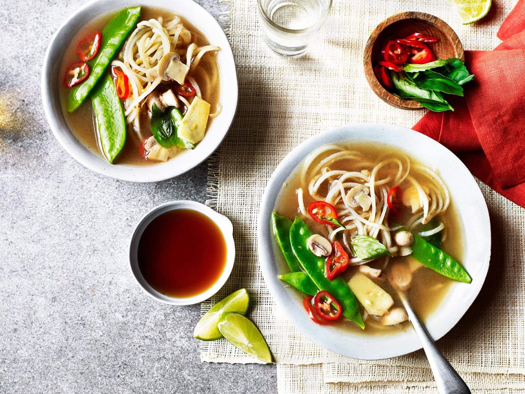 Thai Potato Noodle Cleansing Broth 1