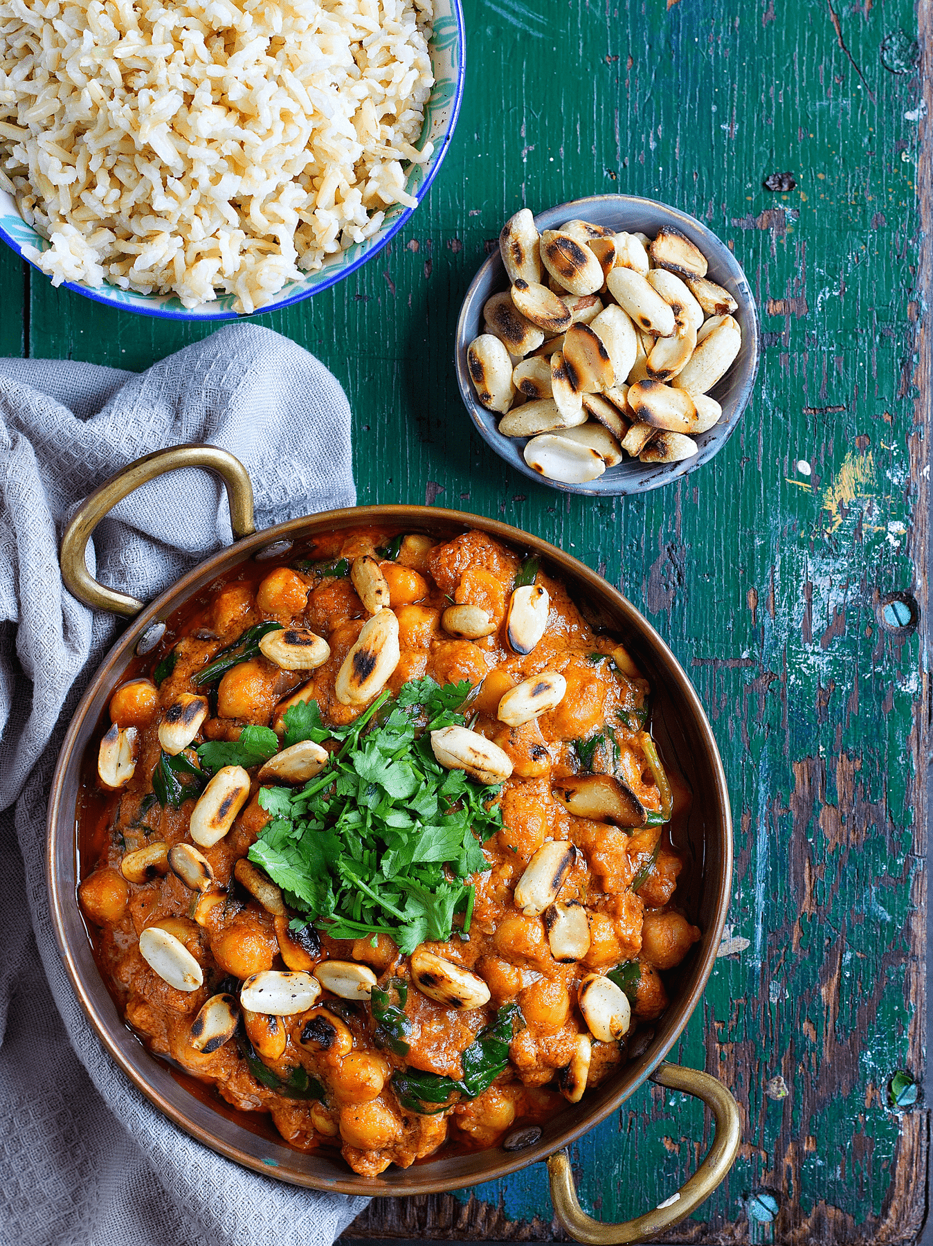 Peanut Butter & Chickpea Curry 1