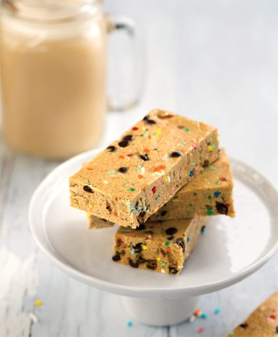 Cake Batter Breakfast Bars 1
