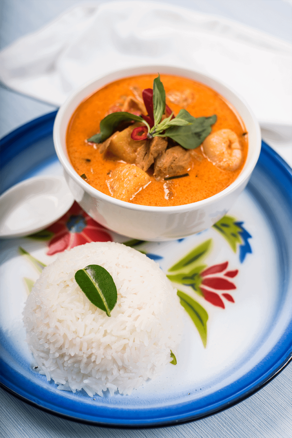 Roast 'Duck' Curry - Gaeng Phed 'Ped' Yaang 1