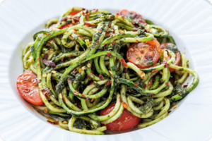 Pesto Courgetti & Chilli 1