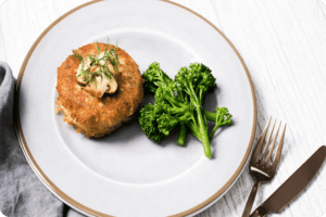 Potato Cakes Stuffed with Mushrooms 1