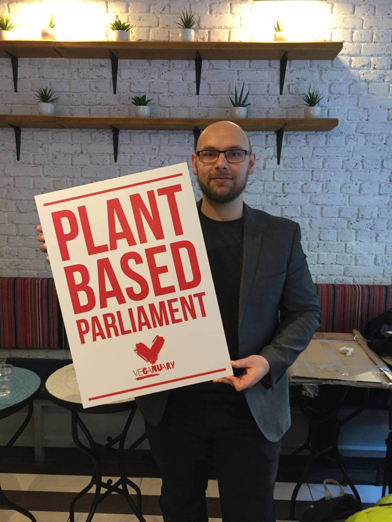 Veganuary 2019 kicks off with a call on UK parliament to try vegan this January 1