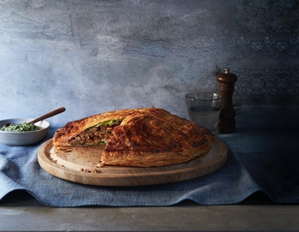 Nutty Pithivier with Watercress & Pistachio Pesto 1