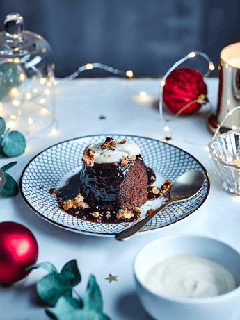 BOSH! X Tesco Christmas Spiced Sticky Toffee Pudding with Brandy Cream 1