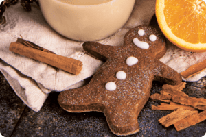 Festive Spiced Gingerbread Biscuits 11