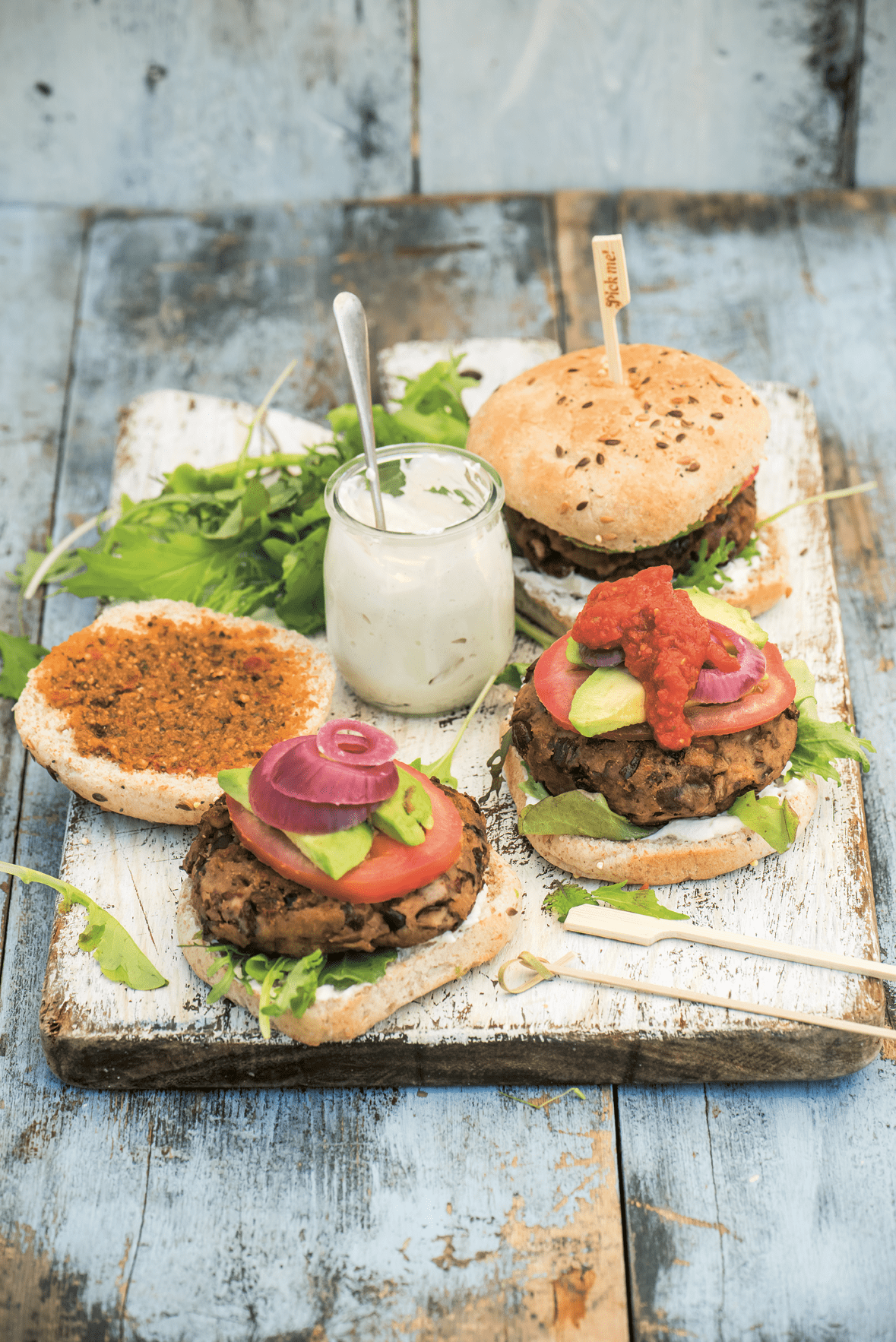 Ultimate Fifteen-Minute 'Burger' 1