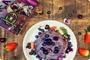 Sambazon Superfood Purple Açaí Pancakes