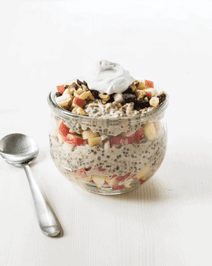 Apple Pie Overnight Oats 1