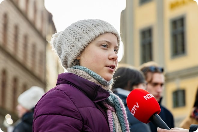 16-year old environmentalist nominated for Nobel peace prize