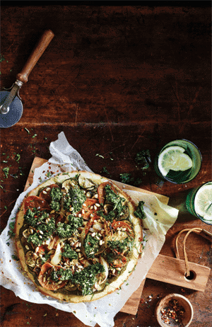 Mind-blowing Moroccan Pizza 1