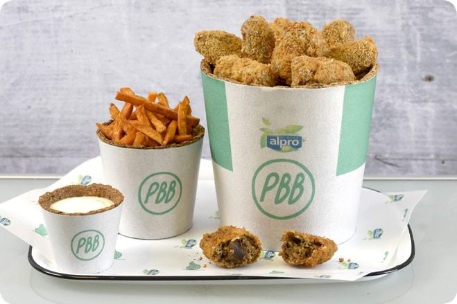 World's first fully edible takeaway launched by Alpro for Plant Power Day