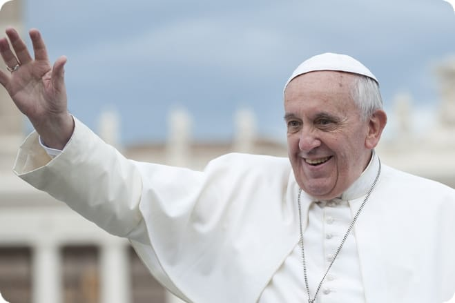 Pope Francis responds to request to go vegan for Lent