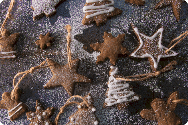 Festive Spiced Orange Biscuits
