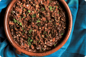 lentil and date tagine