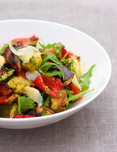 Mediterranean Vegetable Salad 1