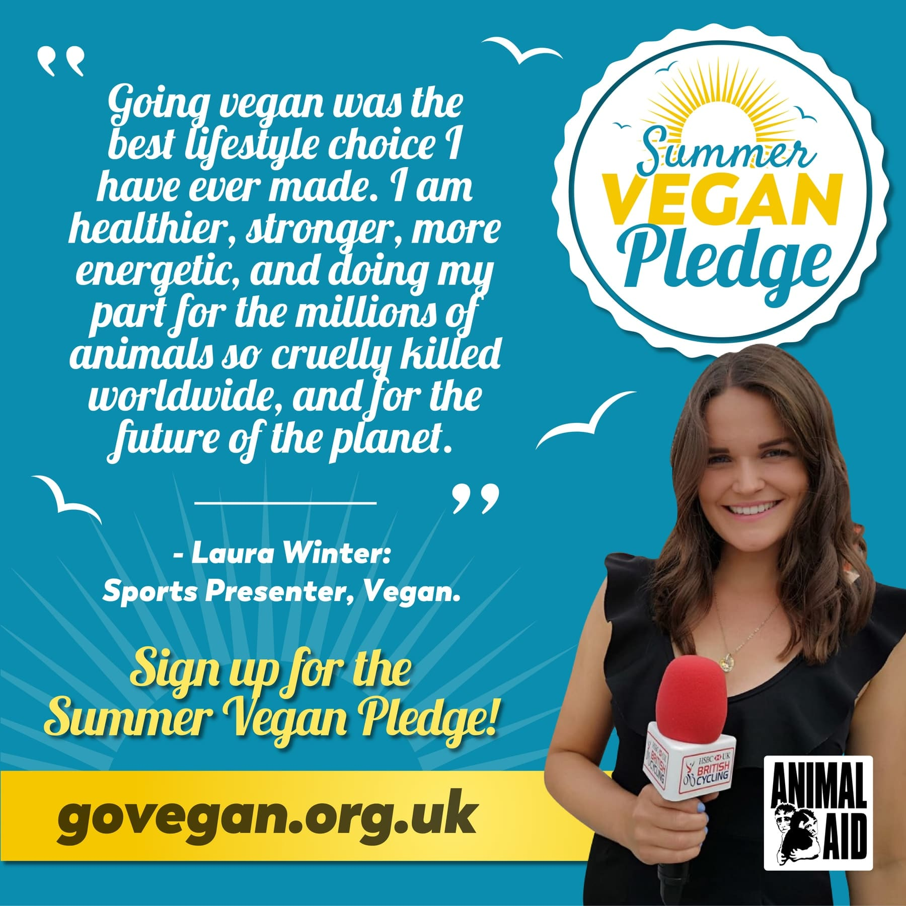 Celebrities urge people to go vegan this coming summer 3