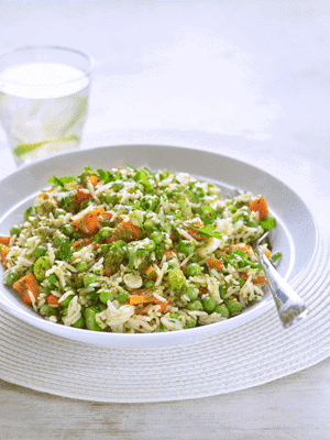 Rice Salad With Sacla' Free From Pesto Dressing 1