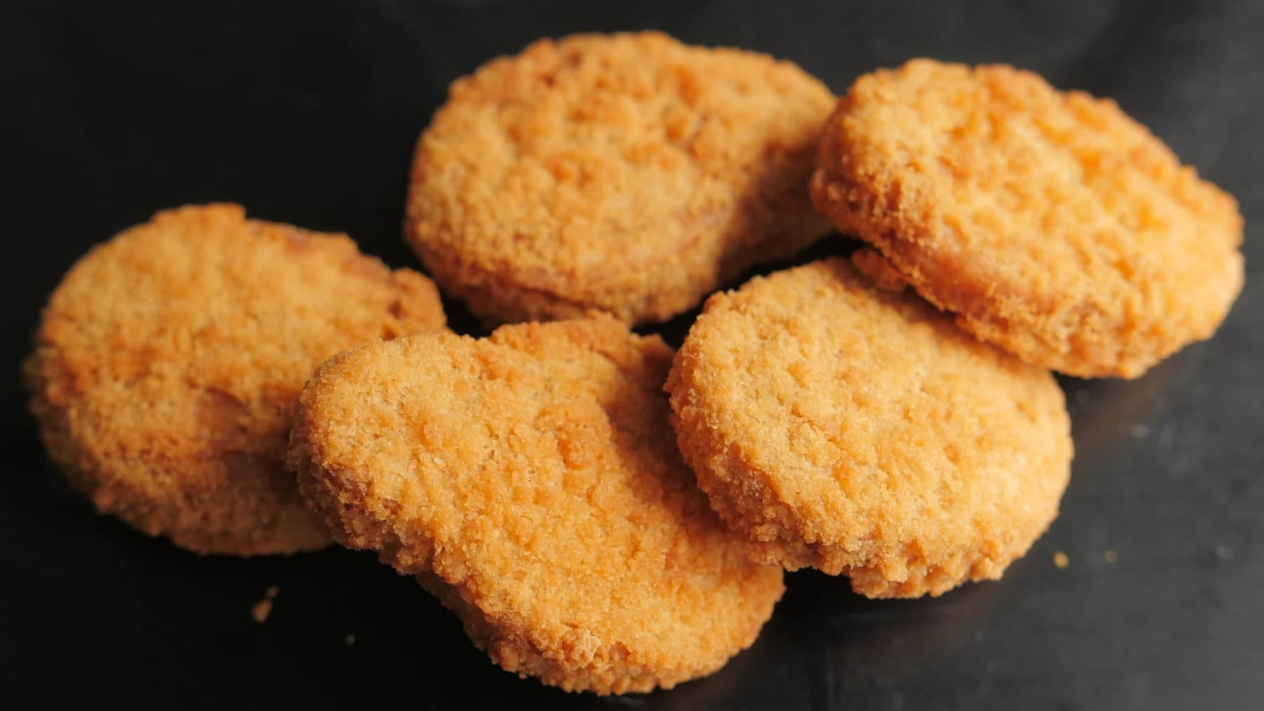 a0c4e59a1102 For £3.99, you can get your hands on What The Pitta's Vegan Nuggets, which  will come served with a homemade dip of your choice.