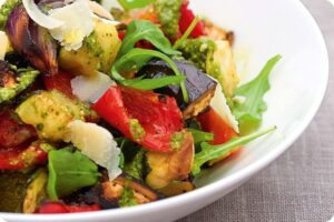 Mediterranean Vegetable Salad 6